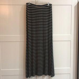 Karen by Karen Kane striped maxi skirt